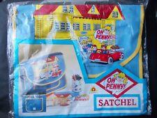 Vintage 80s Bluebird Oh Penny RARE Childs Satchel
