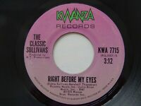 The Classic Sullivans A ring don't mean a thing without love 45 Northern Soul Kw