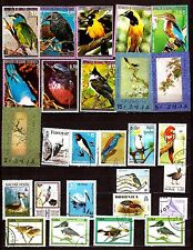 EP175/34 TOUS PAYS :oiseaux communs,exotiques,palmipèdes et migrateurs