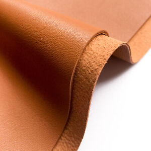 BROWN Leather Sheet 6x6in/15x15cm 2oz/.8mm Soft Brown Leather Scraps BRAN 819