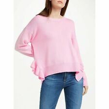Essentiel Antwerp Frill Knit Palais Cashmere Jumper Sweater