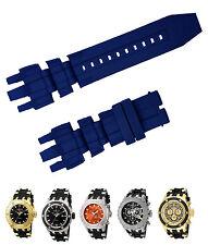 New Blue Diver Rubber Watch Band Strap For Invicta Subaqua Reserve Analog