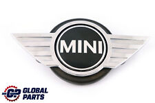 BMW Mini Cooper 2 R60 R61 Trunk Lid Holder Emblem Button Tailgate Badge Opening