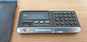 Vintage Casio Computer Quartz CQ-1 Calculator. Not working for Spares or Repair.