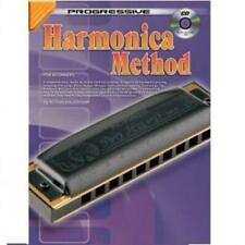 Progressive Harmonica Method for Beginners (w/ Cd) [Method Book]