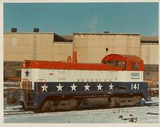 Republic Steel Railroad #141 Engine Switcher Patriotic Bicentennial Ohio Color 2