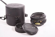 Lens SMC Pentax-A f/2 - 50mm with case, front and rear cap. #2079953
