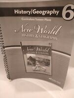 Abeka New World History & Geography Grade 6 Curriculum/ Lesson Plan Guide