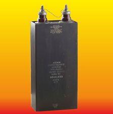120 uF 3.5 kV HIGH VOLTAGE OIL FILLED AEROVOX VINTAGE CAPACITOR PX16D83