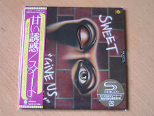 "SWEET ""Give Us A Wink"" Japan mini LP SHM CD"
