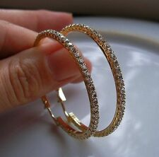 REAL GENUINE 9CT GOLD HOOP EARRINGS GF,SILLY CLEARANCE PRICE,ALMOST SOLD OUT 01