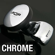 I-POP Chrome Car Steering Wheel Suicide Spinner Knob 1P For All Vehicle