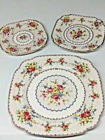 Royal Albert Bone China Petit Point Plates (set of three)