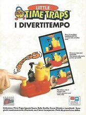 X1986 Little Time Traps - Editrice Giochi - Pubblicità del 1996 - Vintage advert