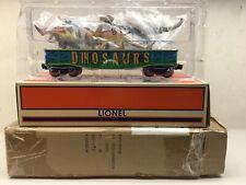LIONEL 6-52582 2011 JR LCCA GONDOLA WITH DINOSAURS AND SHIPPER NIB L8158