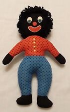 Vintage Hand Made Folk Art Black Face Doll Great Face