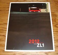 Original 2012 Chevrolet Camaro ZL1 Sales Brochure 12 Chevy