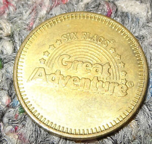 Six Flags Great Adventure Skill Redemption Token with Rainbow Logo (Lot of 10)