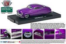 CANDY PURPLE 1949 MERCURY LOW RIDER M2 MACHINE 1:64 SCALE DIECAST METAL CAR