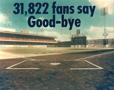 SHIBE PARK 8x10 PHOTO Last Home Game @ Connie Mack Stadium PHILADELPHIA PHILLIES