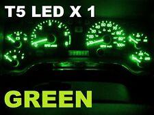 1 X T5 GREEN LED Side Wedge  VS VT VX VY VZ VU SS VE AU BA BF FG Dash Console