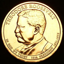 2013 P Theodore Roosevelt Presidential Dollar Pos A