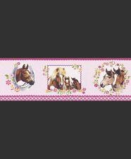 Bordi di carta da parati rosa per il bricolage e fai da te