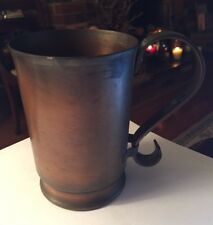 Vintage Glencroft Copper Mug No Monogram