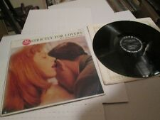 The Jay Gordon String Orchestra Strictly For Lovers Tops Mono LP SEXY COVER