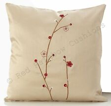 Polyester Floral Decorative Cushions
