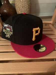 New Era 59Fifty Pittsburgh Pirates 7 3/8 Two Tone 2006 Black Red Green UV