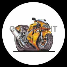 Koolart 4x4 4 x 4 Spare Wheel Graphic Suzuki Tl 1000R Sticker 677