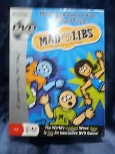 Imagination Mad Libs DVD Game NEW Sealed
