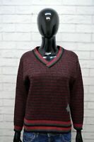 Maglione YVES SAINT LAURENT Donna Taglia S Pullover Cardigan Sweater Woman Righe