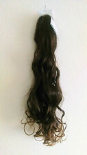 HAARTEIL -MADELEINE- DUNKELBRAUN- HELLBRAUN- ca.70 cm Solida Bel Hair B169-LESEN
