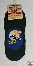 Mens Footliners Foot Covers Liners No Show Socks Black Loafer Dress Casual