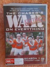 THE CHASERS WAR ON EVERYTHING SERIES 1-VOL 2(2 X DISC BOXSET)  DVD MA R4