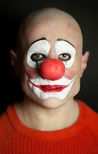 "Silicone Mask ""Clown Ron"" Hand Made, Halloween Quality Pro Realist Scary"