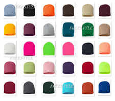 Sportsman - 8 Inch 100% acrylic Knit Beanie Winter Hat - SP08