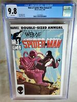 Web of Spider-Man Annual #1 Marvel 1985 CGC 9.8 NM/MT White Pages - Comic G0109