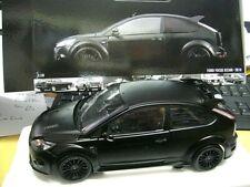 FORD Focus RS500 RS 500 2010 matt black schwarz RAR limited PMA Minichamps 1:18
