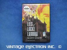Scott Lynch - THE LIES OF LOCKE LAMORA - Audiobook (MP3 CD's Like New) Book 1
