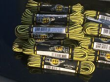 DR MARTENS  4mm yellow black striped cord LACES 140 cm SHOE BOOT TRAINER