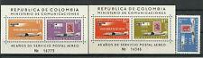 3493/Kolumbien 1959 893 Block 16 und 17 ** Marke auf Marke