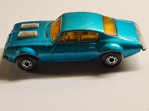 Matchbox SUPERFAST N°4 PONTIAC FIREBIRD 1975 LESNEY PRODUCTS MADE IN ENGLAND