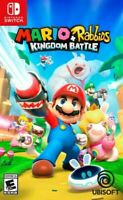 Mario + Rabbids Kingdom Battle (Nintendo Switch, 2017) *