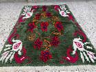 Handmade Vintage Moroccan 2 Rugs Azilal Berber Rug Beni Ourain Tribal Carpet