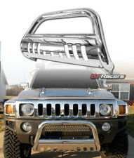 Chrome Bull Bar Brush Push Bumper Grill Grille Guard 2005/2006-2010 Hummer H3