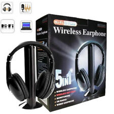 Kubite 5 in 1 Ver-Ear Teens WIth MIC Foldable DJ Game 3.5mm Wired Headphones New
