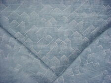 1-1/4Y Groundworks Gwf-3733 Brink Delft Chenille Chevron Ikat Upholstery Fabric